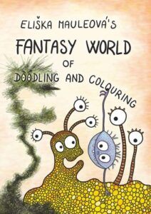 Fantasy world of doodling and colouring